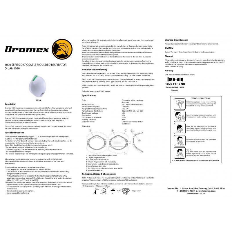 Sofort lieferbar - FFP2 Maske kaufen, Mundschutz | Dromex ...