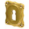 Rosette mit Buntbart Schlüsselloch B21BB (Stückpreis)