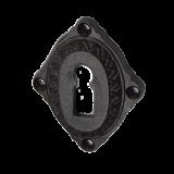 Rosette mit Buntbart Schlüsselloch IRB4301BB (Stückpreis)