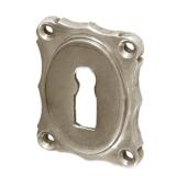 Rosette mit Buntbart Schlüsselloch N4211BB (Stückpreis)