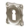 Rosette mit Buntbart Schlüsselloch NM21BB (Stückpreis)
