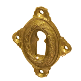 Rosette mit Buntbart Schlüsselloch P4711BB (Stückpreis)