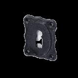 Rosette mit Buntbart Schlüsselloch IRB4211BB (Stückpreis)