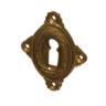 Rosette mit Buntbart Schlüsselloch A7001BB (Stückpreis)