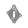 Rosette mit Buntbart Schlüsselloch NM7001BB (Stückpreis)