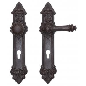 wechselgarnitur mit knauf historismus modell kassel eisen antik ventano. Black Bedroom Furniture Sets. Home Design Ideas