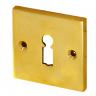 Rosette mit Buntbart Schlüsselloch B4341BB (Stückpreis)