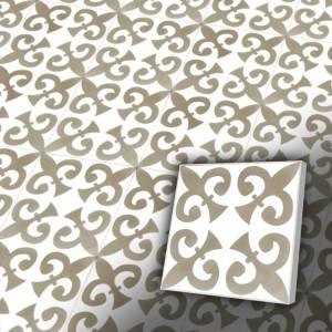 Zementfliesen antik, historischer Baustoff | Retro-Fliesen | Historisch | Design V20-xxx-a | Ventano