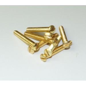M5 Messingschrauben mit kleinem Linsensenkkopf